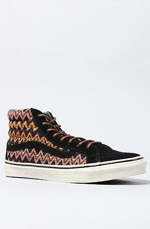 698203c088 Vans Sk8-Hi Slim CA Zig Zag Black 39  Amazon.fr  Chaussures et Sacs