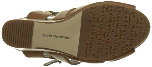 Clair Marron Sandals Open Fintan 91 Hush Puppies Brown Toe WoMen w07qfq8