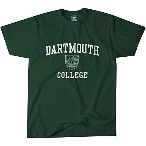 Ivysport Dartmouth College Short-Sleeve T-Shirt, Crest, Hunter Green, XX-Large