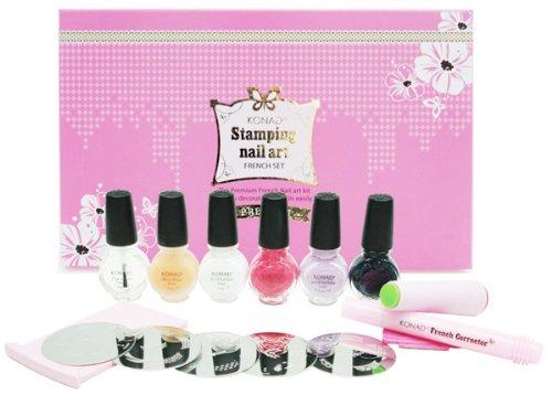 Konad Premium French Manicure Nail Stamping Kit FAST SHIPPING by KONAD Nail Art