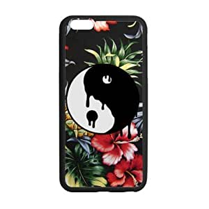 Canting_Good Ying Yang Custom Case Cover Shell for iPhone 5C TPU (Laser Technology)