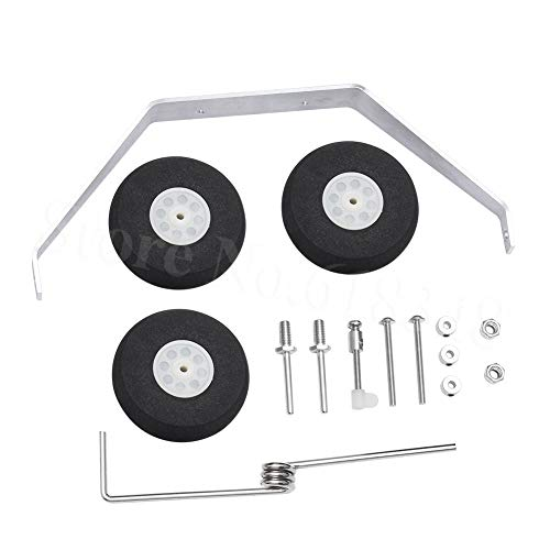 Part & Accessories Aluminum Main Landing Gear Wheel Kit RC Airplane Cessna 182 Parts Replacement 40 Size ARF PNP