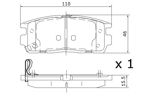 frigair pd07.511/Brake Pads