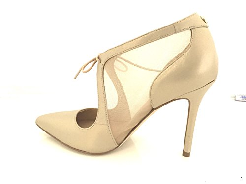 Women d16gu25 nbsp;Leather TC Shoes Beige 90 Breda Guess Tip Decollete AxwZznqng5
