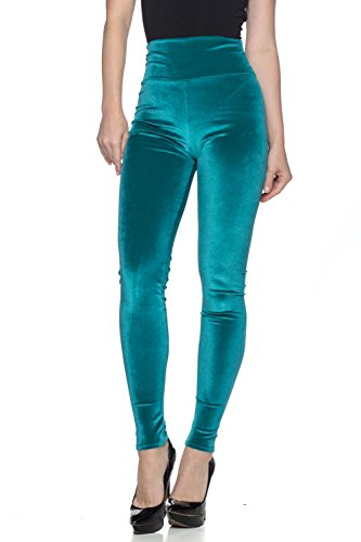 Women's J2 Love Velvet High Waist Leggings, Medium, Plush ()