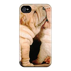 Protection Case For Iphone 4/4s / Case Cover For Iphone(shar Pei Puppies)