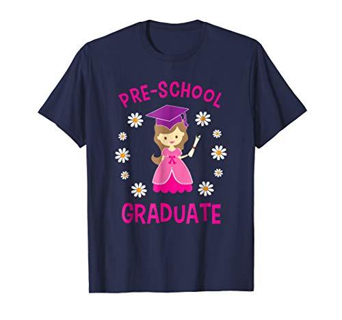 Kids Preschool Graduate Graduation Pre-K Gift T-Shirt Girls ()