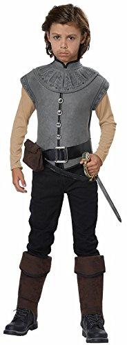 New World Explorer/Captain John Smith Boys Costume Gray -