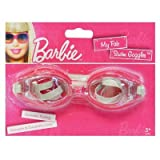 Barbie My Fab Swim Goggles Rubber Adjustable Goggles Barbie Swim Goggles