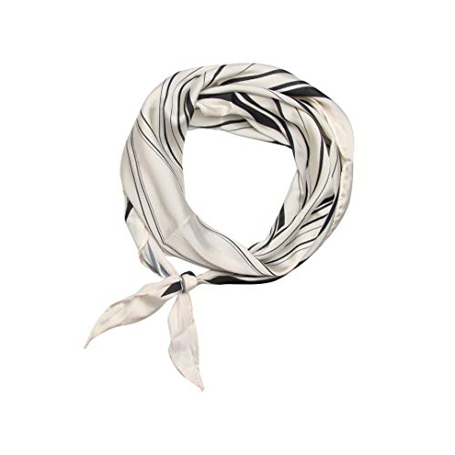Banded Diamond Bandana Black and White Jazzed 12 Style Headwrap Boho Headband Bohemian Chic Hair Style