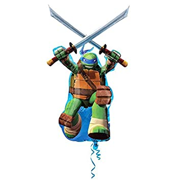 Amscan International - Globos Leonardo, Tortugas Ninja ...