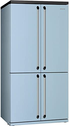 Smeg FQ960PB Independiente 540L A+ Azul nevera puerta lado a lado - Frigorífico side-by-side (Independiente, Azul, Puerta americana, LED, Puerta a puerta, LED): Amazon.es: Grandes electrodomésticos