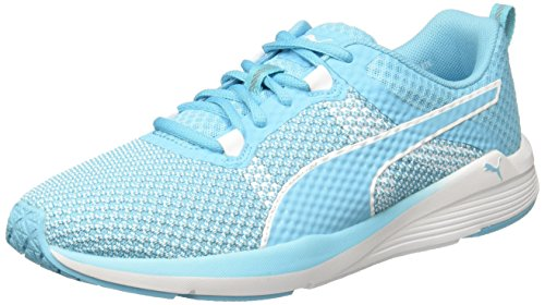 Puma Pulse Ignite XT, Zapatillas Deportivas Para Interior Para Mujer Azul (Nrgy Turquoise- White)