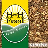 Premium Non-GMO Naturally Right Horse Feed, Milled Fresh, Soy Free, Corn Free Fertrell Horse Power Vitamins Minerals (50lb)