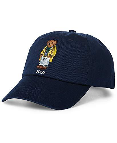 Polo Ralph Lauren Men's Polo Bear Baseball Cap Adjustable Navy Blue