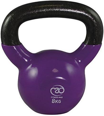 Fitness Mad - Pesa rusa (10 kg), color frambuesa: Amazon.es: Deportes y aire libre
