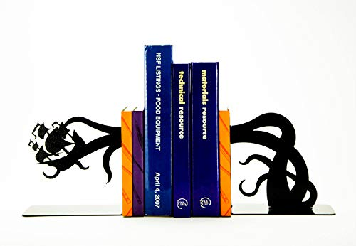 (Tentacle Pirate Ship Bookends)