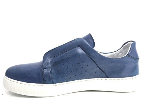 Italy Pelle Scarpa in Slip On Jeans Made 511 Uomo Sneaker Exton vWwRxzAqSn