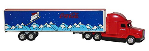 Ertl Coca-cola Tractor-Trailer 1/64 Scale Die Cast Metal Highly Detailed Replica, 1995 Edition. (Scale Replica Diecast Tractor Trailer)