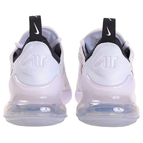 Nike womens Nike Women's Air Max 270 White/Black Ah6789-100 4
