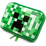 Minecraft Game Pattern Casual Kids Eva Pencil Case with Double Zipper Big Capacity Study Stationery for Boys