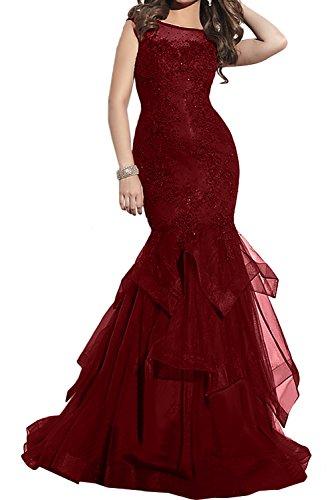 TOSKANA BRAUT - Vestido - para mujer borgoña