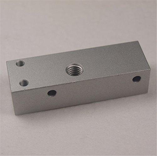 HEASEN Replicator 2 stampante 3D MK8-extruder Bar Mount hotend Bar Metallo in lega di alluminio Bar Mount