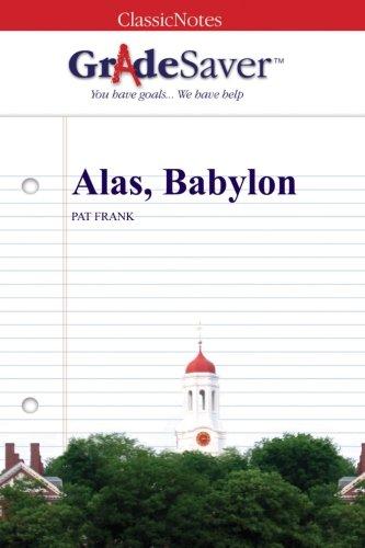 alas babylon survival of the fittest essay