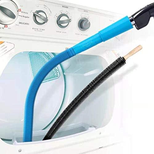 Amazon.com: Holikme 2 Pack Dryer Lint Vacuum Attachment and Flexible Dryer  Lint Brush, Dryer Vent Cleaner Kit, Vacuum Hose Attachment Brush, Lint  Remover, Blue: Home Improvement