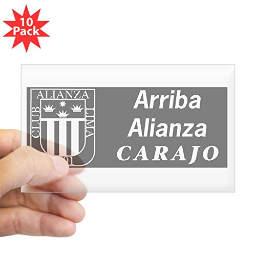 fan products of CafePress - Alianza Lima Rectangle Sticker 10 Pk) - Rectangle Bumper Sticker (10-pack), Car Decal