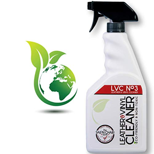The Salon Chair Guys - Vinyl Cleaner and Leather Conditioner, Upholstery Cleaner, Eco-Friendly and Non-Toxic, Child and Pet Friendly, for Leather Chairs and Couches