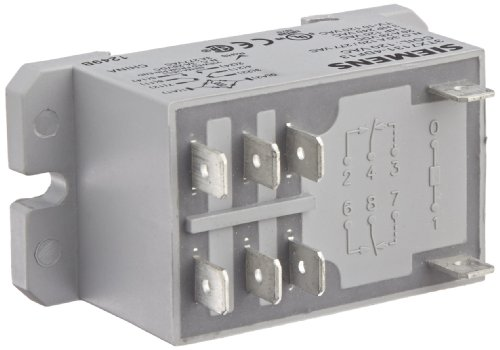 - Basic Plug In Enclosed Power Relay, DPDT Contacts, 30A NO/3A NC Contact Rating, 120VAC Coil Voltage