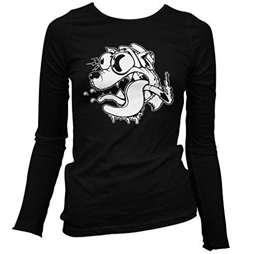Freshism Women's Fast Times Long Sleeve T-shirt - Black, XX-Large