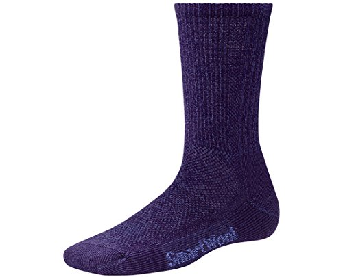 Smartwool Women's Hike Ultra Light Crew Socks (Imperial Purple/ Berry) Large