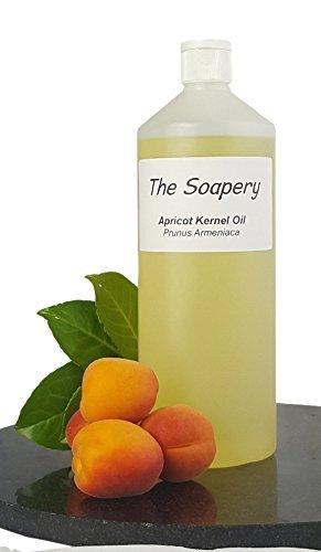 Núcleo de albaricoque Aceite 1 litro – cosmético – Carrier aceite para masaje y aromaterapia