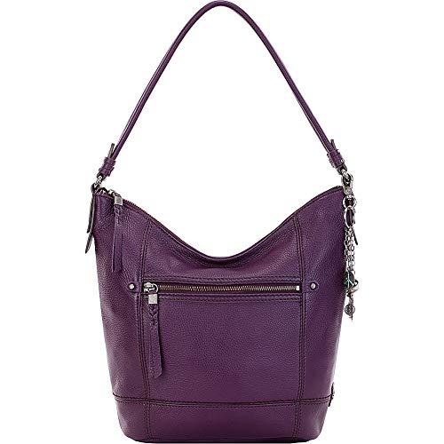 Purple Hobo Handbag - 5