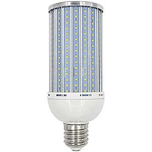 Granvoo Cálido 265v Aluminio 65w De Luz Placa Ac Blanco E40 85 1pcs Led 300x2835 Smd Maíz dWCxoreB