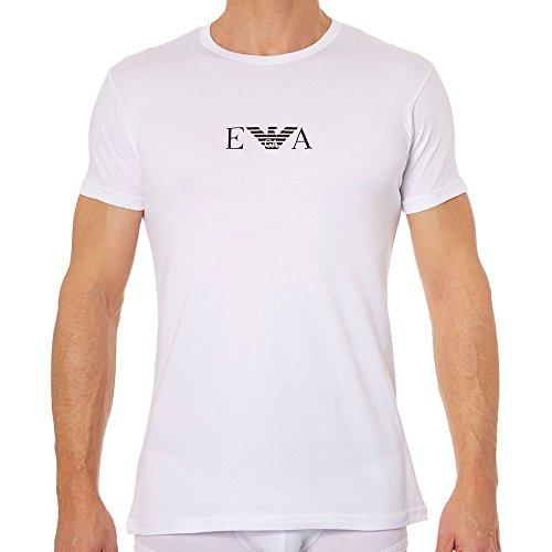 Armani Underwear T-shirt - Armani Men's Pack T-Shirt M White