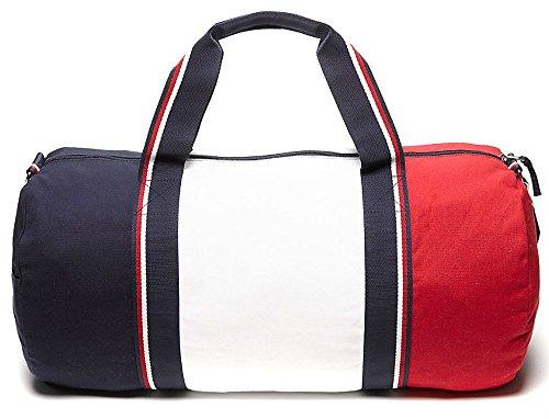 Amazon.com   Tommy Hilfiger Patriot Duffle Bag - Navy   Red   Sports Duffels 286f91ce9b
