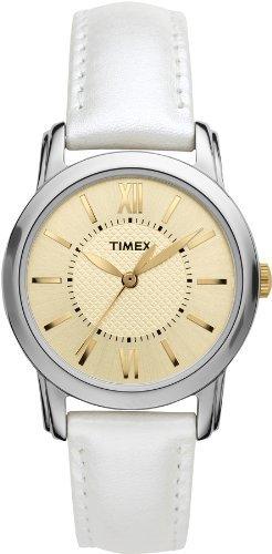 Timex Uptown Chic Leather Ladies Watch T2N682