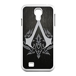 Samsung Galaxy s4 9500 White Cell Phone Case Assassins Creed LWDZLW0745 Hard Plastic Phone Case Cover