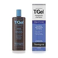 Neutrogena T /Gel Champú terapéutico Fórmula original, tratamiento anticaspa para el alivio duradero de la picazón y descamación del cuero cabelludo como resultado de la psoriasis y la dermatitis seborreica, 16 fl. onz