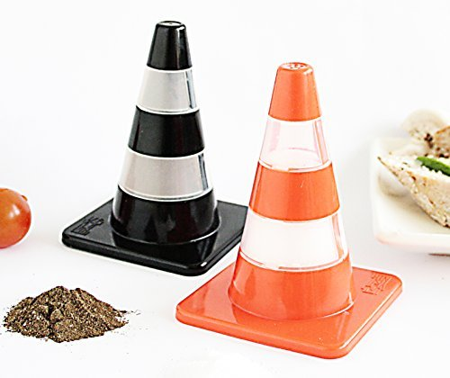 traffic cone salt and pepper - 1