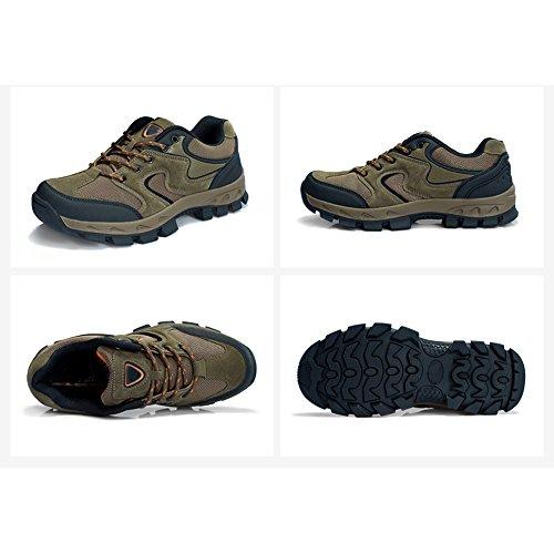 CHT De Otoño E Invierno Amantes Al Aire Libre De Senderismo Zapatos De Los Hombres De Montaña De Tamaño Multi-código Rojo Verde Marrón Gris Opcional brown-women-36