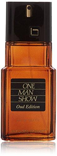 Jacques Bogart One Man Show for Men, Eau de Toilette Spray, Oud Edition, 3.33 Ounce