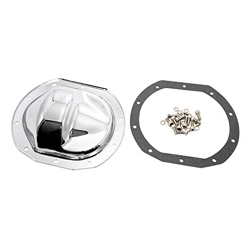 Assault Racing Products A9293KIT Ford 10 Bolt 7.5in Ring Gear Chrome Steel Rear Differential Cover Kit
