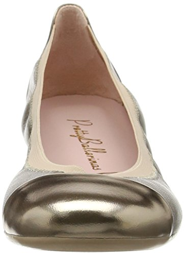 Espequio Gold Ballerines Pretty Ballerinas Or Shirley Mekong Femme acPaO67ABy