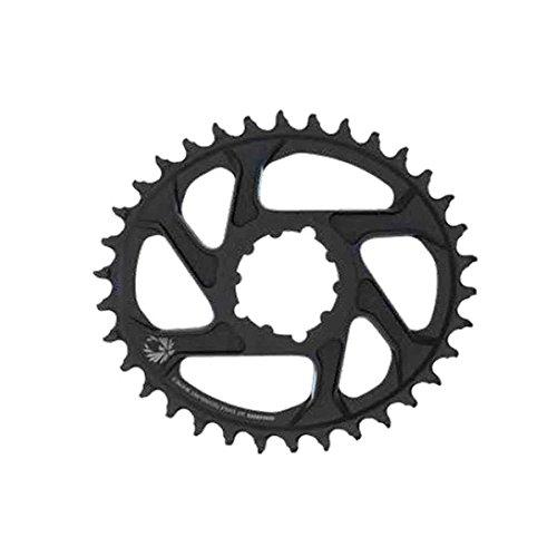 Sram Kettenblatt X-Sync Eagle oval 36T, Direct Mount, Aluminium, schwarz 12-Fach, 6mm Offset, 11.6218.038.050, Standard