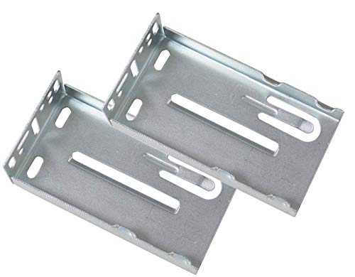 Ball Bearing Drawer Slide Rear Mounting Brackets - 2 Pair (Screws NOT Included)