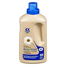 Eco-Max 4x Concentrated Hypoallergenic Laundry Wash, 1.5 L, Scent Free